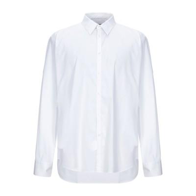 マニュエル リッツ MANUEL RITZ シャツ ホワイト 45 コットン 76% / ナイロン 20% / ポリウレタン 4% シャツ