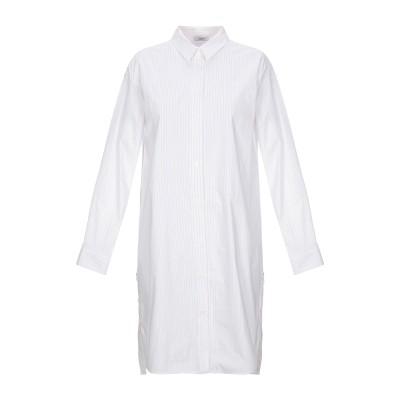 ペゼリコ PESERICO ミニワンピース&ドレス ホワイト 42 コットン 76% / ナイロン 20% / ポリウレタン 4% ミニワンピース&