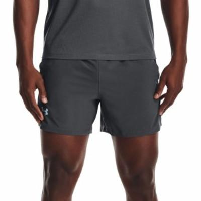 アンダーアーマー Under Armour メンズ ショートパンツ ボトムス・パンツ Launch SW 5 Shorts Pitch Gray/Black/Refl
