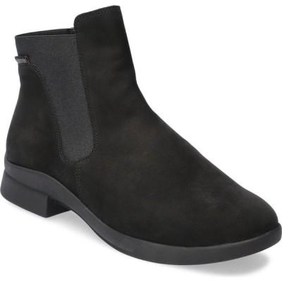 メフィスト MEPHISTO レディース ブーツ シューズ・靴 Soria Bootie Black Nubuck