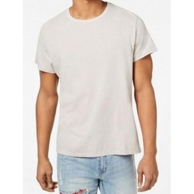 ファッション トップス Elwood NEW Clay Gray Mens Size 2XL Short Sleeve Crewneck T-Shirt