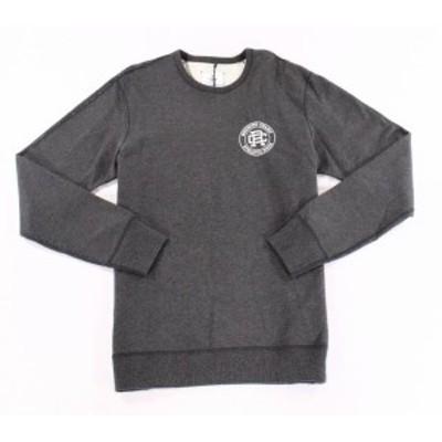 HEATHER  ファッション トップス REIGNING CHAMP Mens Heather Gray 2XL Athletic Wear Crewneck Sweater