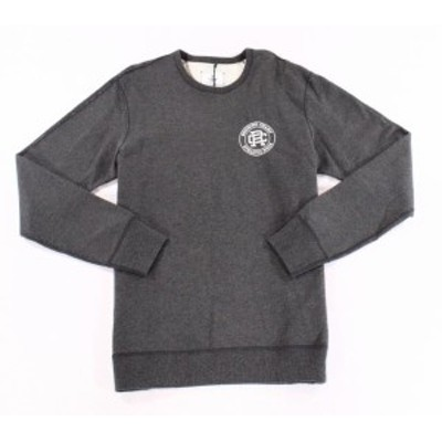 HEATHER  ファッション トップス REIGNING CHAMP Mens Heather Gray 2XL Athletic Wear Crewneck Sweater