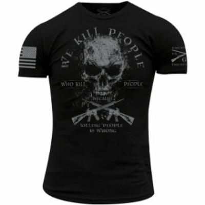ファッション トップス Grunt Style We Kill Revisited T-Shirt - Black