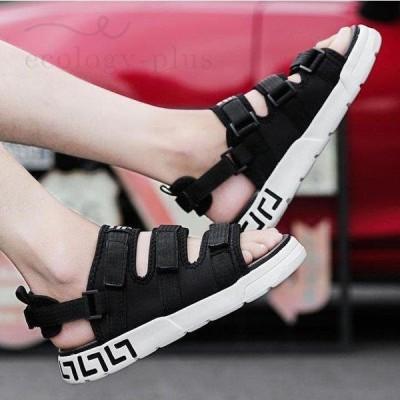 サンダル メンズ ビーチサンダル 痛くない 夏サンダル 靴 カジュアルシューズ 大きいサイズ かっこいい 歩きやすい 2020夏新作