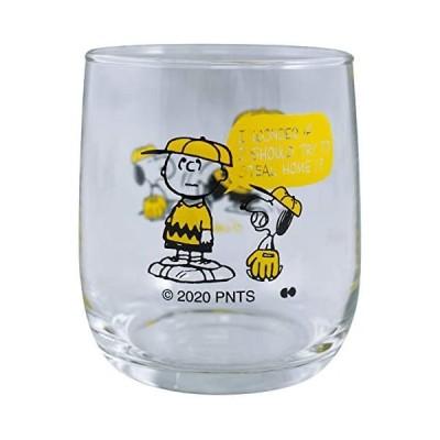 大西賢製販 PEANUTS GLASS BASEBALL YE PE-602