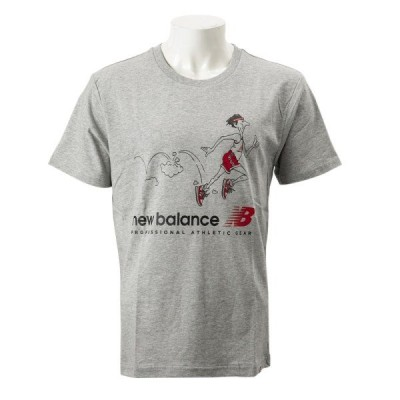 New Balanceウェア ニューバランス ウェア M NBアスレチックスローバックT AG(アスレチックグレー)