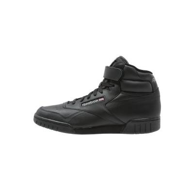 リーボック スニーカー メンズ シューズ EX-O-FIT LEATHER SHOES - High-top trainers - black