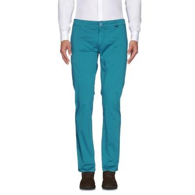 LIU •JO MAN パンツ ディープジェード 42 コットン 97% / ポリウレタン 3% パンツ