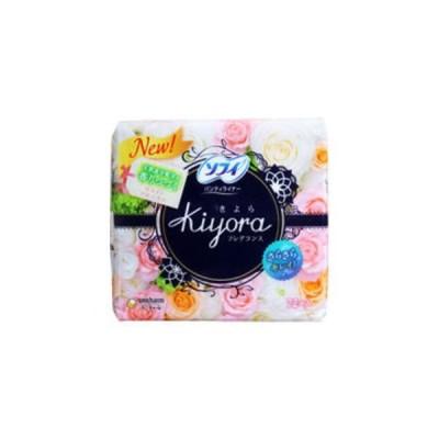 ソフィ Kiyoraフレグランス パンティライナー ホワイトフローラルの香り 72個入