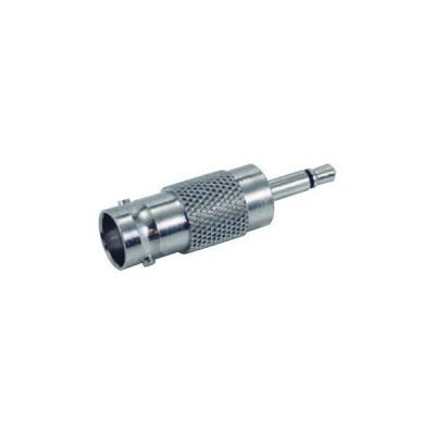 ジェフコム BNC変換アダプター BNCジャック⇔3.5mmモノラルプラグ LBNC-JMO