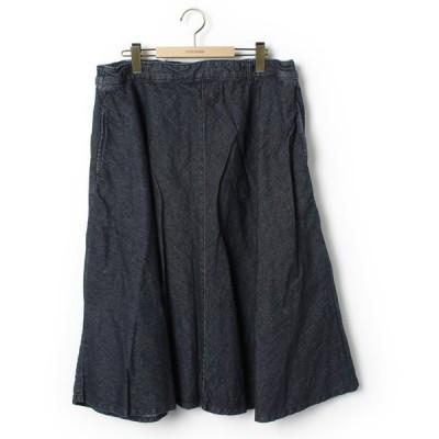スカート 【laru】フレアスカート