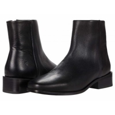Frye フライ レディース 女性用 シューズ 靴 ブーツ アンクル ショートブーツ River Inside Zip Bootie Black Soft Vintage【送料無料】