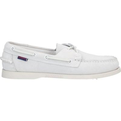 セバゴ SEBAGO DOCKSIDES メンズ ローファー シューズ・靴 loafers Ivory