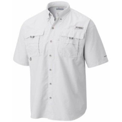 コロンビア メンズ シャツ トップス Men's PFG Bahama II Short Sleeve Shirt White