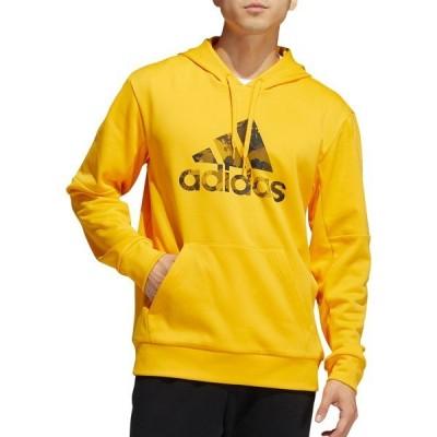 アディダス パーカー・スウェットシャツ アウター メンズ adidas Men's Game And Go Hoodie ActiveGold