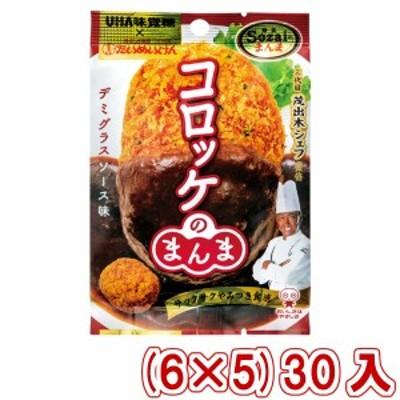 味覚糖 Sozaiのまんま コロッケのまんま デミグラスソース味 (6×5)30入 (Y10) (本州一部送料無料)