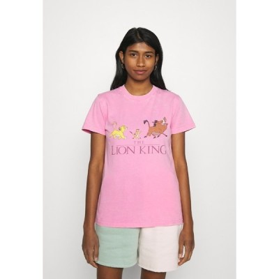 コットンオン Tシャツ レディース トップス CLASSIC DISNEY - Print T-shirt - pink cherry blossom