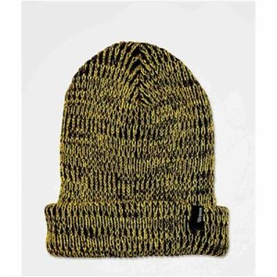 ブリクストン BRIXTON メンズ ニット ビーニー 帽子 Brixton Filter Gold and Black Beanie Gold