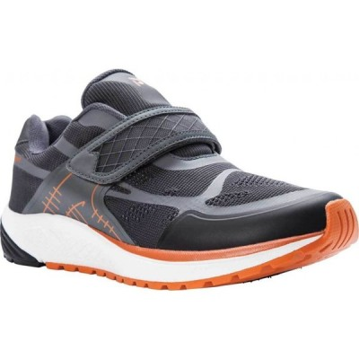 プロペット Propet メンズ ランニング・ウォーキング スニーカー シューズ・靴 One Strap Sneaker Burnt Orange/Dark Grey Mesh