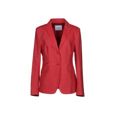 ドンダップ DONDUP テーラードジャケット レッド 44 バージンウール 95% / ポリウレタン 5% テーラードジャケット