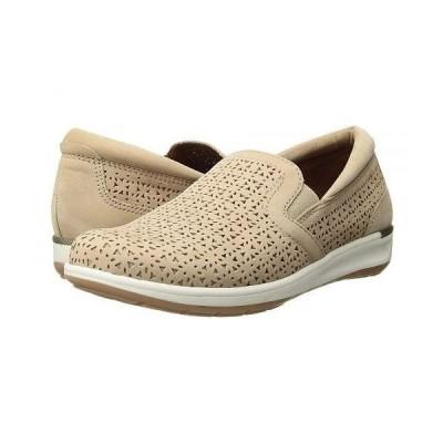 Walking Cradles ウォーキングクレイドル レディース 女性用 シューズ 靴 スニーカー 運動靴 Orleans - Light Taupe Perforated Nubuck