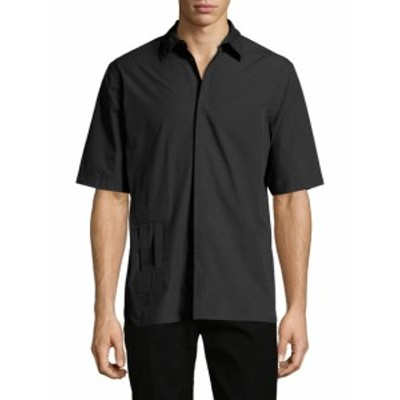 ヘルムートラング メンズ カジュアル ボタンダウンシャツ Bar Tab Cotton Sportshirt