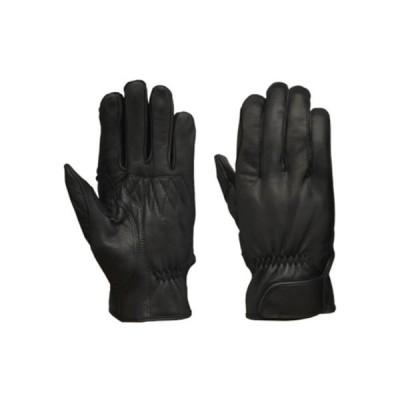LEAD リード工業 山羊革(ゴートスキン) グローブ ブラック フリーサイズ GL-704A