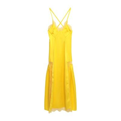 OFF-WHITE™ 7分丈ワンピース・ドレス イエロー 40 ポリエステル 100% / ナイロン 7分丈ワンピース・ドレス
