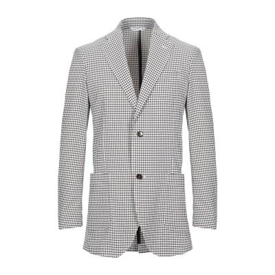 HYBRID SENSOR® by FLEXJAPAN テーラードジャケット カーキ 46 ポリエステル 100% テーラードジャケット