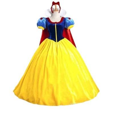 白雪姫 ドレス コスチューム コスプレ 大人用 Mサイズ