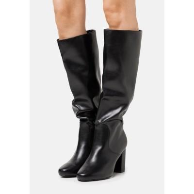 レイド ブーツ&レインブーツ レディース シューズ DILENI - High heeled boots - black