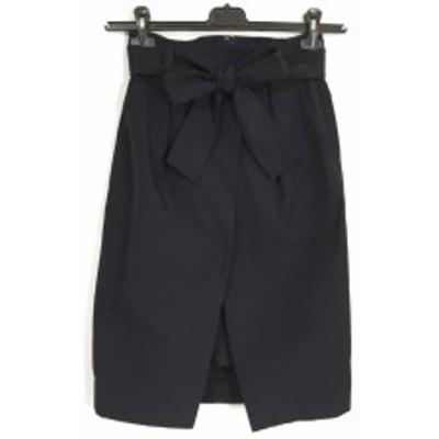 ピンキー&ダイアン Pinky&Dianne スカート サイズ34 S レディース 美品 黒【中古】20200428