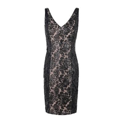 LAUREN RALPH LAUREN ミニワンピース&ドレス ブラック 4 ナイロン 100% ミニワンピース&ドレス