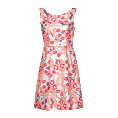 パロッシュ P.A.R.O.S.H. ミニワンピース&ドレス フューシャ M ポリエステル 83% / ナイロン 11% / 指定外繊維 6% ミニ