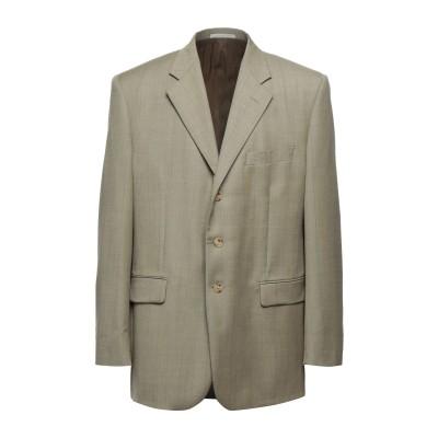 LUBIAM テーラードジャケット ミリタリーグリーン 58 バージンウール 100% テーラードジャケット