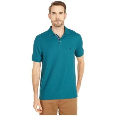 ナウティカ メンズ シャツ トップス Solid Polo Shirt