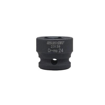 SIGNET(シグネット) 23139 1/2DR インパクト用ショートソケット 24MM [▲][TP]