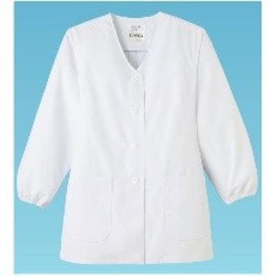 STY135 女性用調理衣 長袖 FA-330 3L:_
