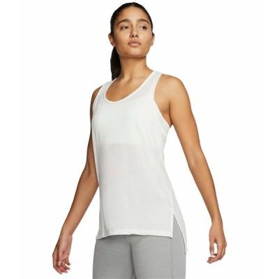 ナイキ シャツ トップス レディース Yoga Layer Tank Summit White/Platinum Tint