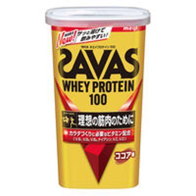 明治【ワゴンセール】ザバス(SAVAS) ホエイプロテイン100 ココア味 14食分 1個 明治 プロテイン(わけあり品)