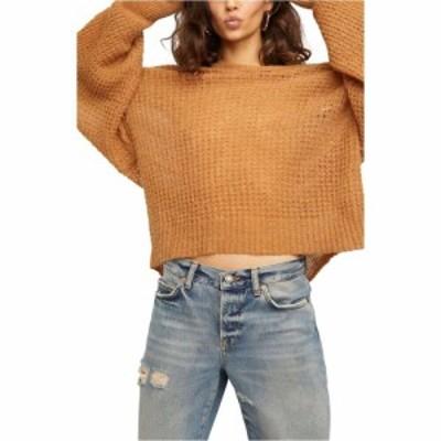 フリーピープル FREE PEOPLE レディース ニット・セーター Vネック トップス Lulu Oversize V-Neck Sweater Birchwood