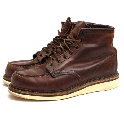 RED WING レッドウィング ワークブーツ 1907 6inch CLASSIC MOC TOE Copper Rough&Tough Leather コッパーラフ&タフレザー