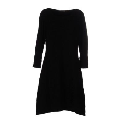 アルベルタ フェレッティ ALBERTA FERRETTI ミニワンピース&ドレス ブラック 44 100% バージンウール ミニワンピース&ドレス