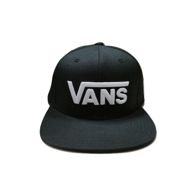 VANS バンズ DROP V2 SNAPBACK CAP クラシックロゴ スナップバック キャップ 黒 ブラック