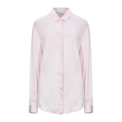 OFF-WHITE™ シャツ ライトピンク 42 レーヨン 55% / シルク 45% シャツ