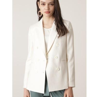 PINKY&DIANNE / ◆ヘリンボーンダブルブレストジャケット WOMEN ジャケット/アウター > テーラードジャケット