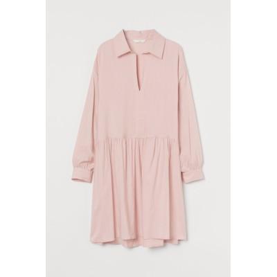 H&M - エアリーワンピース - ピンク