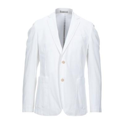 CC COLLECTION CORNELIANI テーラードジャケット ホワイト 50 コットン 97% / ポリウレタン 3% テーラードジャケット