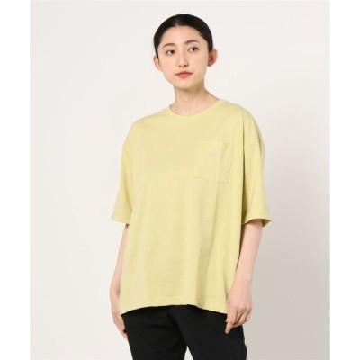 tシャツ Tシャツ ゆったりシルエット ポケット付き 5分袖Tシャツ
